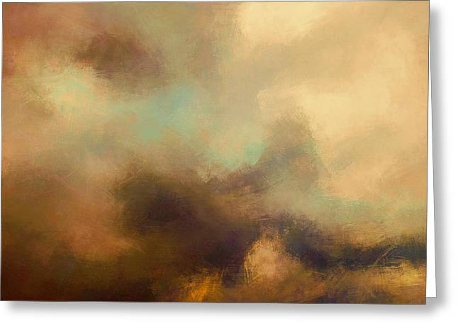 Colorful Sky Greeting Card by Lonnie Christopher