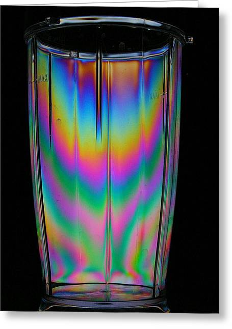 Colorful Tumbler Greeting Card by Donald Tusa
