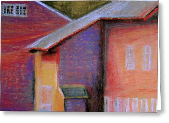 Colors And Shadows Greeting Card by Dona Mara
