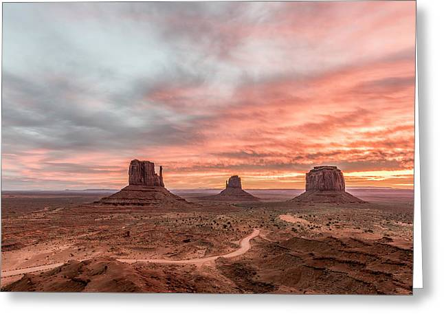 Colors In Monument Greeting Card by Jon Glaser