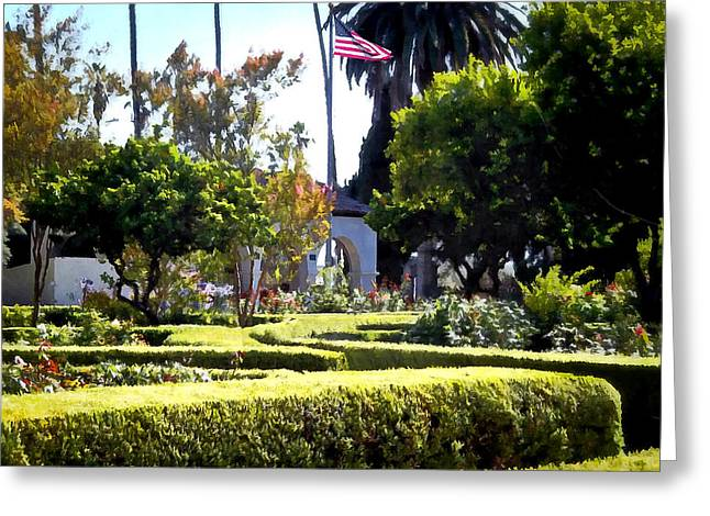 Greeting Card featuring the photograph Colors In The Garden by Glenn McCarthy Art and Photography