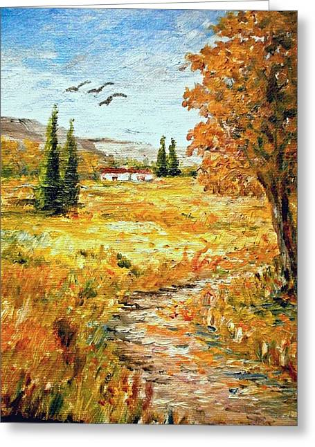 Colors Of Autumn 2 Greeting Card