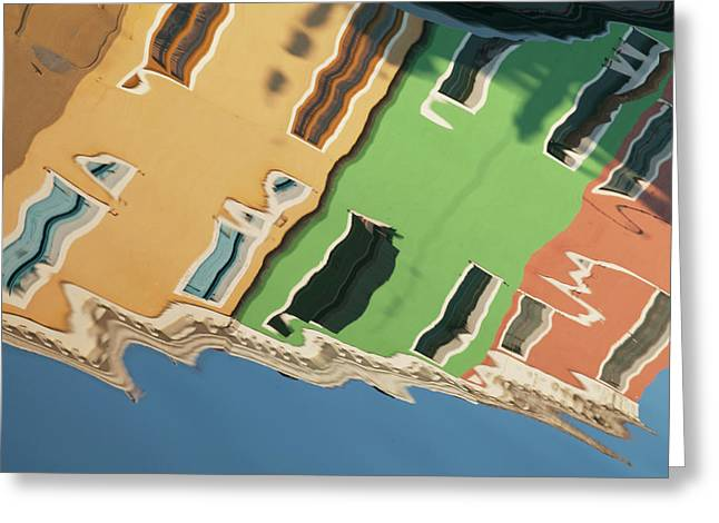 Colors Of Burano 2 Greeting Card by Art Ferrier