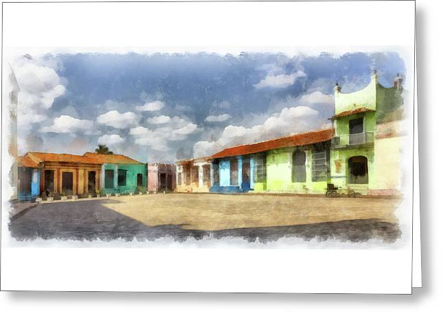 Colors Of Camaguey Greeting Card