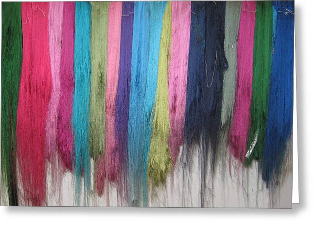 Colors Of Cashmere Greeting Card
