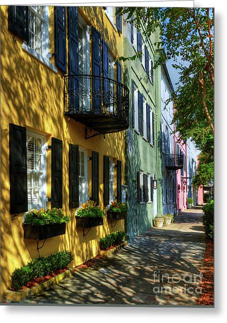Colors Of Charleston 3 Greeting Card by Mel Steinhauer