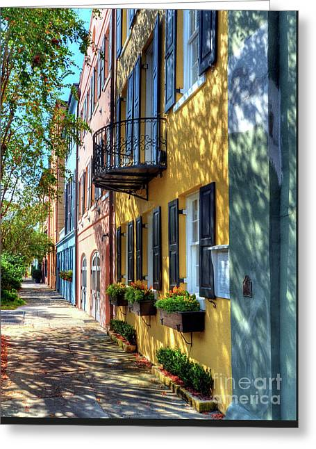 Colors Of Charleston 5 Greeting Card