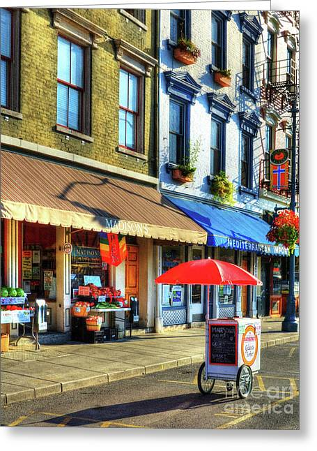 Colors Of Cincinnati 2 Greeting Card by Mel Steinhauer