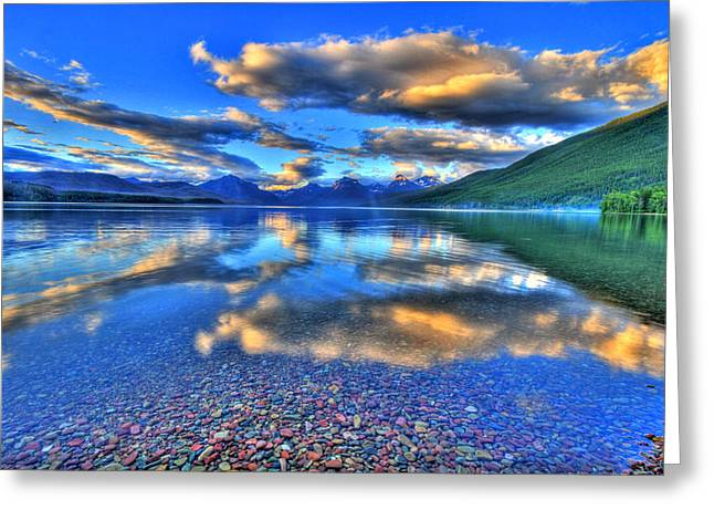 Western Western Art Greeting Cards - Colors of Clouds Greeting Card by Scott Mahon