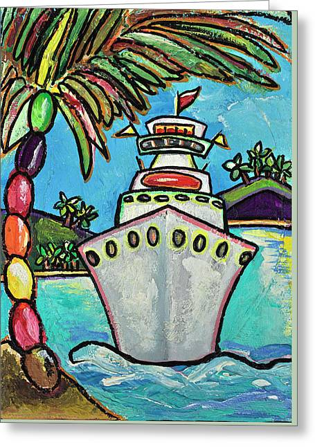 Colors Of Cruising Greeting Card