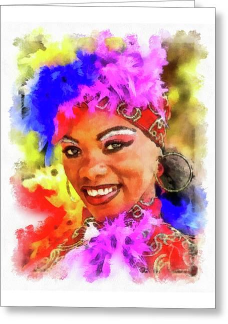 Colors Of Cuba Greeting Card
