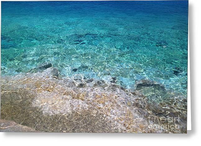 Colors Of Cyprus  Greeting Card