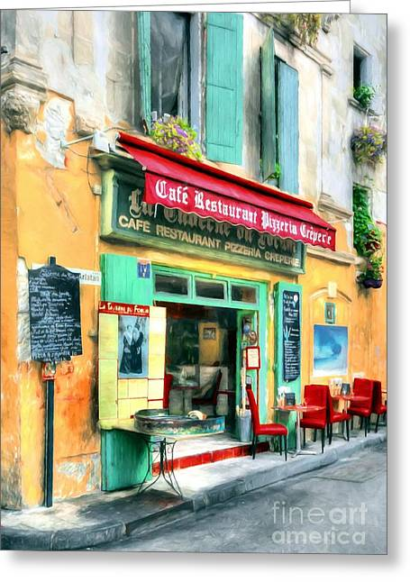 Colors Of France # 2 Greeting Card by Mel Steinhauer