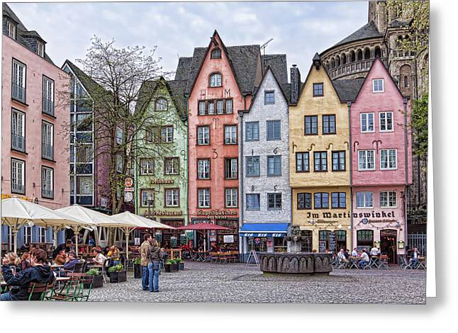 Colors Of Germany Greeting Card