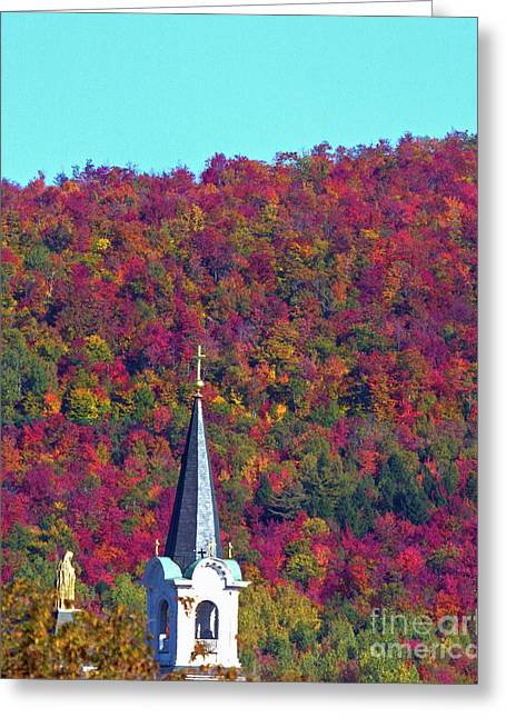 Colors Of Heaven Greeting Card by Lloyd Alexander