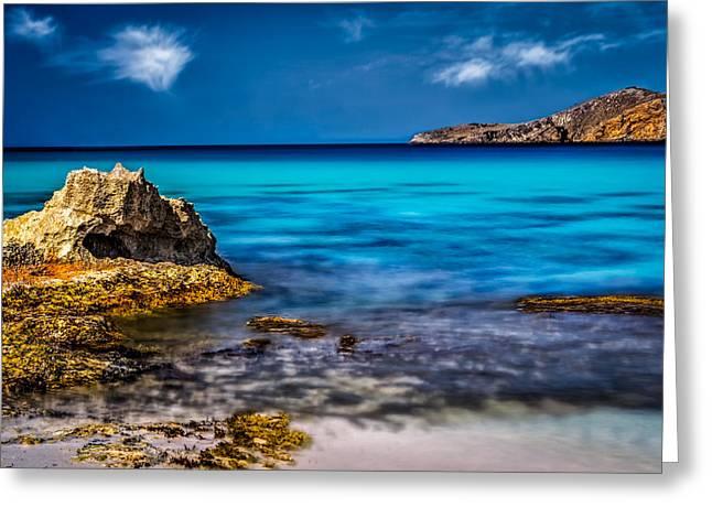Colors Of Ibiza Greeting Card