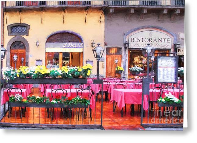 Colors Of Italy # 6 Greeting Card by Mel Steinhauer