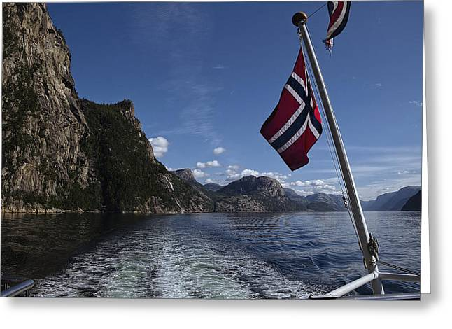 Colors Of Norway Greeting Card