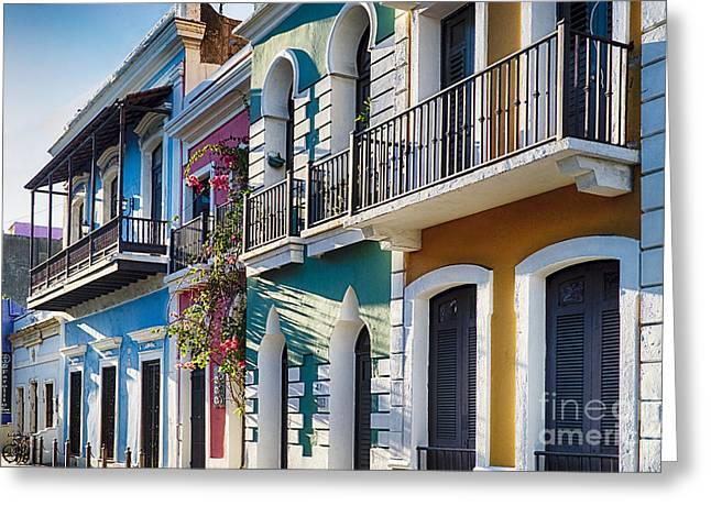 Colors Of Old San Juan IIi Greeting Card