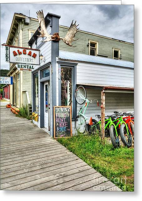 Colors Of Skagway 2 Greeting Card by Mel Steinhauer