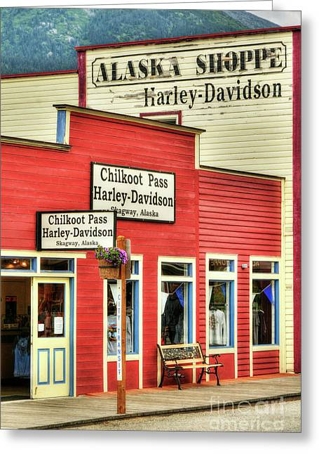 Colors Of Skagway 4 Greeting Card by Mel Steinhauer