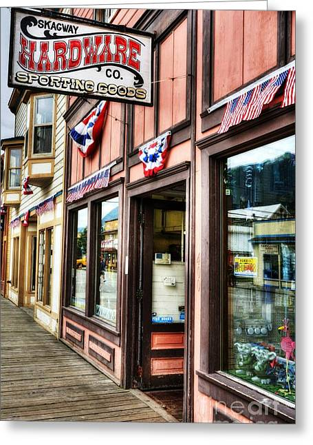 Colors Of Skagway 5 Greeting Card by Mel Steinhauer