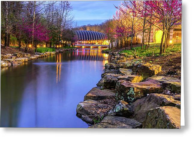 Colors Of Spring At Crystal Bridges Museum Of Art - Arkansas Greeting Card