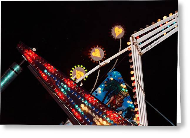 Colors Of The Fair 4 Greeting Card by Kae Cheatham