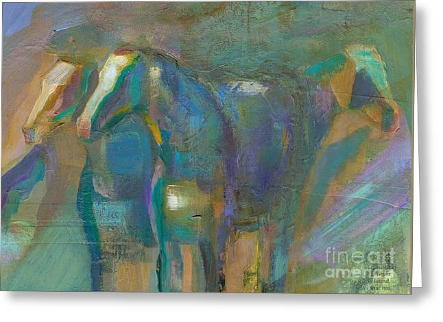 Colors Of The Southwest Greeting Card by Frances Marino