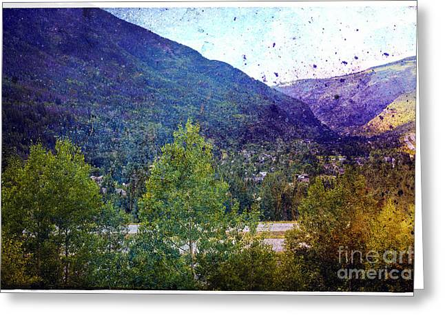 Colors Of Vail Greeting Card by Madeline Ellis