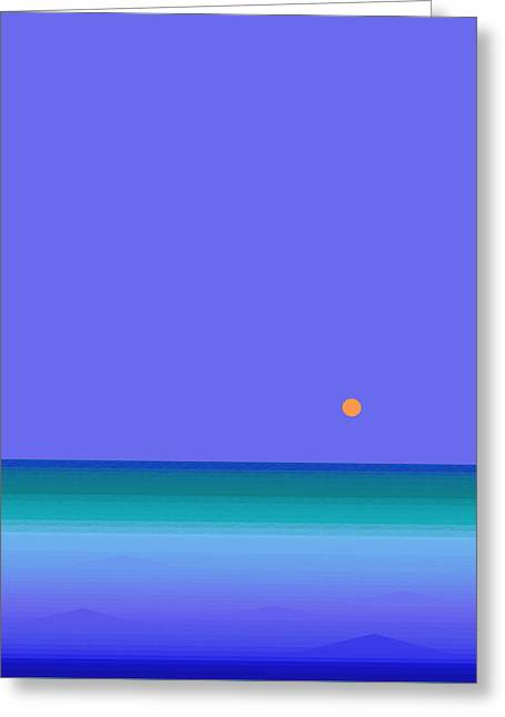 Colors Of Water Greeting Card by Val Arie