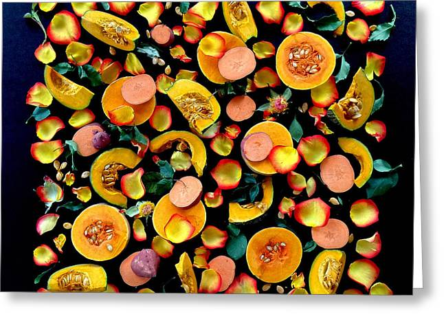 Colors Of Winter Squash Greeting Card