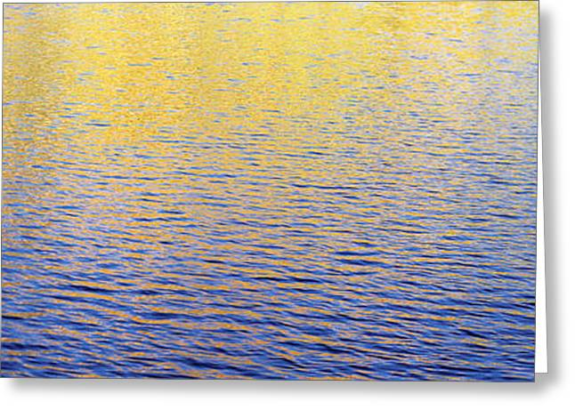 Colors Reflecting On Water, Colorado Greeting Card