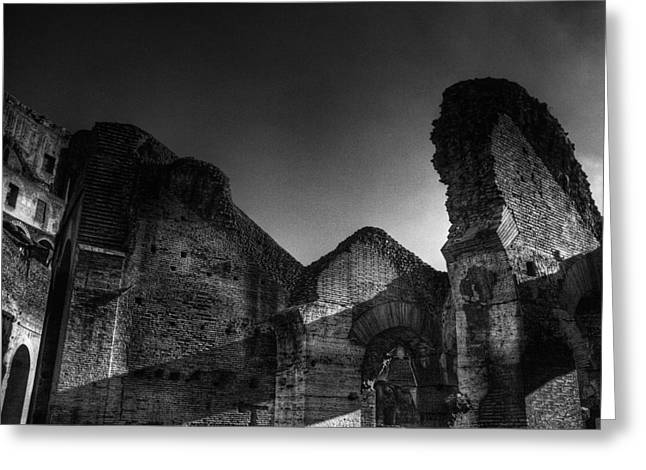 Coloseo 1 Greeting Card by Brian Thomson