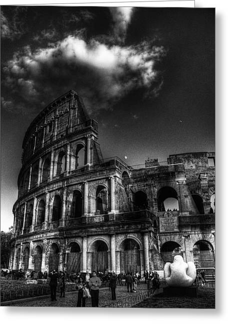 Coloseo 2 Greeting Card by Brian Thomson