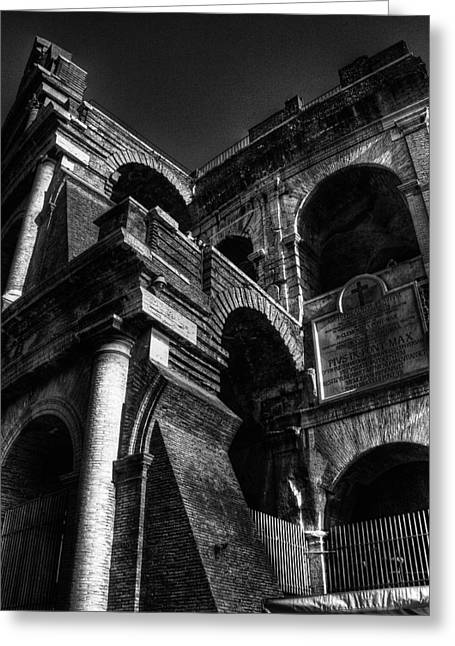 Coloseo 3 Greeting Card by Brian Thomson