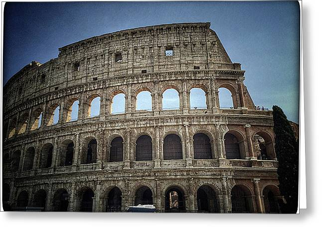 Colosseum 2 Greeting Card by Lisa OConnor
