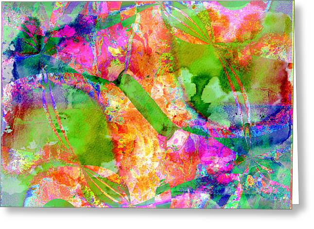 Colour Greeting Card by Contemporary Art