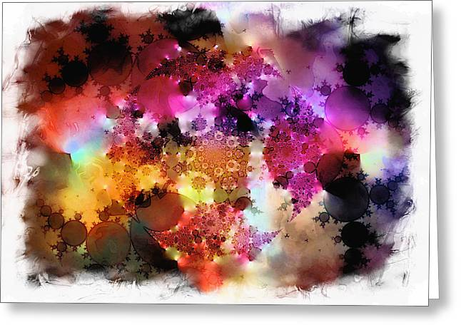 Colour Impressions Greeting Card
