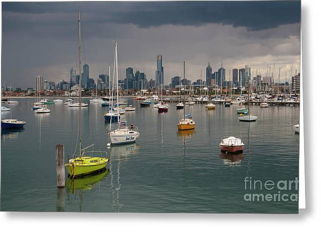 Colour Of Melbourne 2 Greeting Card