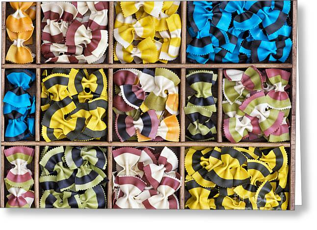 Colourful Bow Ties  Greeting Card by Tim Gainey