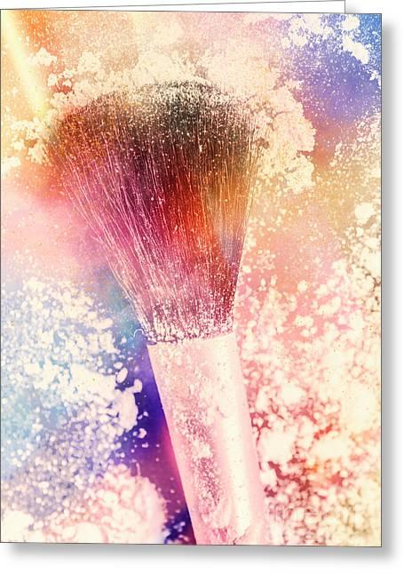 Colourful Cosmetics Greeting Card