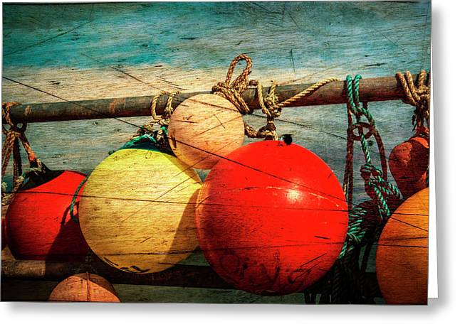 Colourful Fenders In A Distressed State. Greeting Card by Paul Cullen