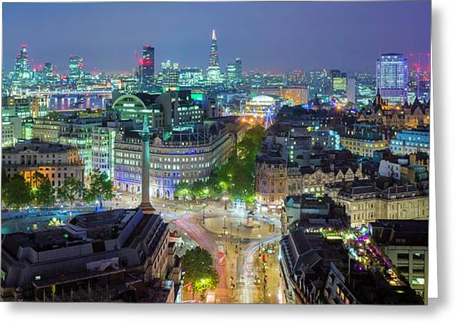 Colourful London Greeting Card
