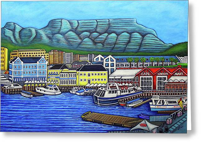 Colours Of Cape Town Greeting Card