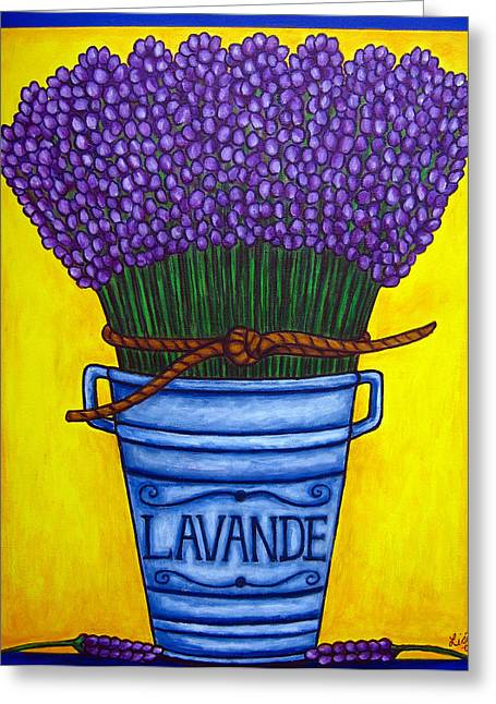 Colours Of Provence Greeting Card by Lisa  Lorenz
