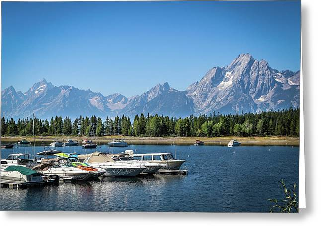 Colter Bay Greeting Card by EG Kight