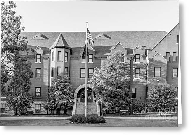 Columbia College St. Clair Hall Greeting Card by University Icons