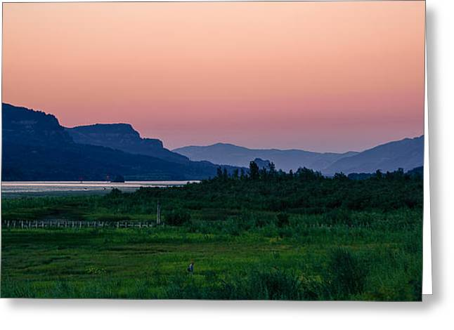Columbia Gorge Greeting Card