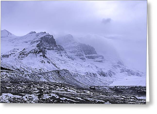 Columbia Ice Fields Greeting Card